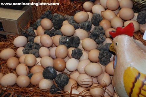 Huevos a la trufa Navarra Gourmet