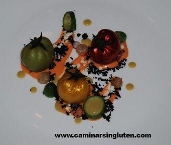 Tomates de Dani García. Navarra Gourmet 2009