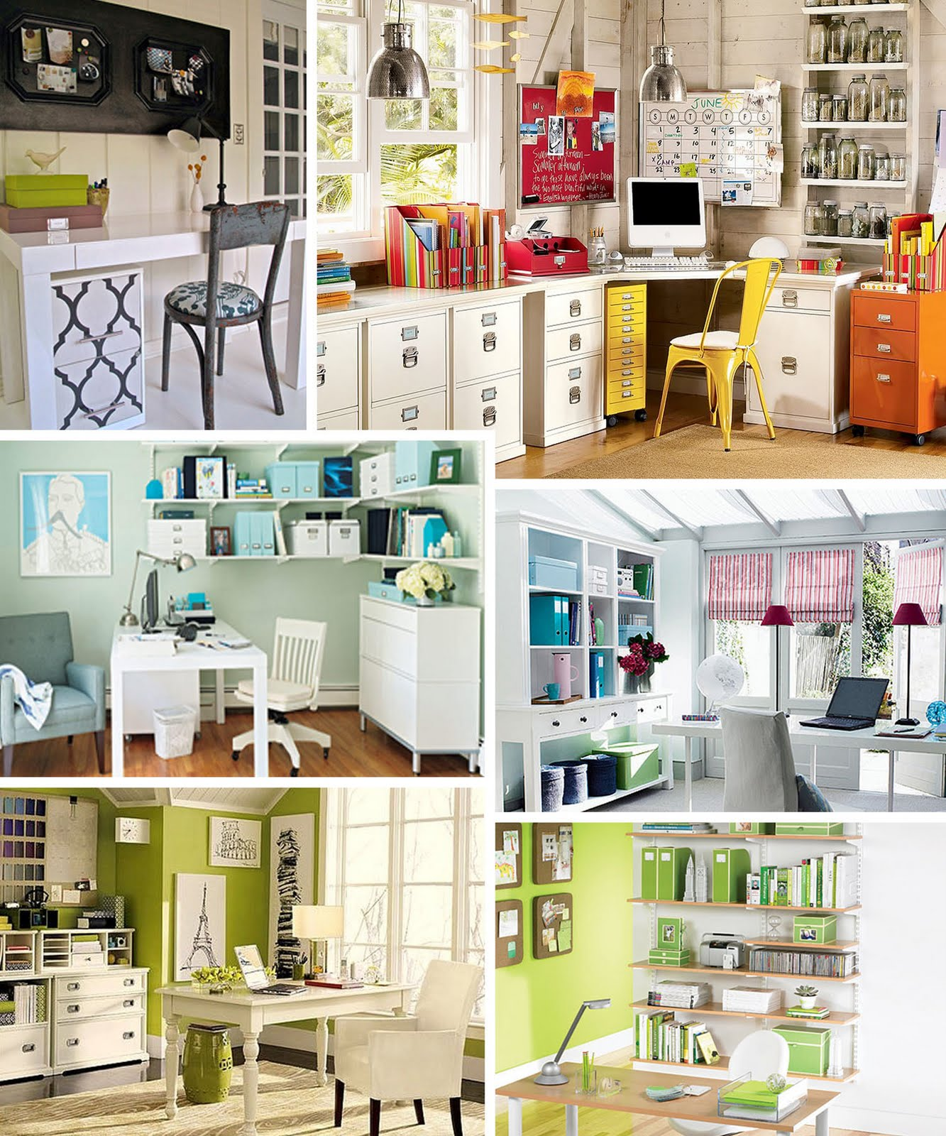 Simplybcreative: Home Office Inspiration