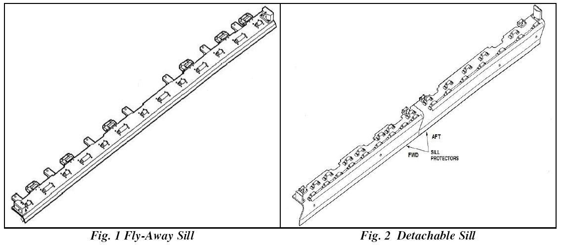 Aircraft Maintenance Support: Main Cargo Door (MCD) Sill