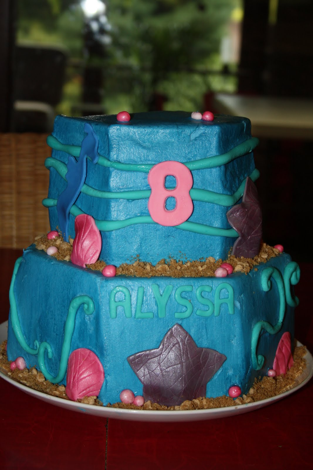 Sweet Pea Cakes Under The Sea Birthday Cake