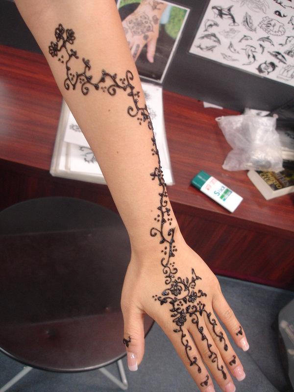 Black Henna Tattoo While Pregnant: Tattoos And Tattoo