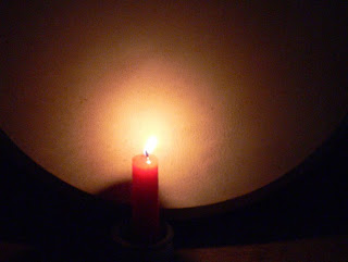 candle bodhran copyright kerry dexter