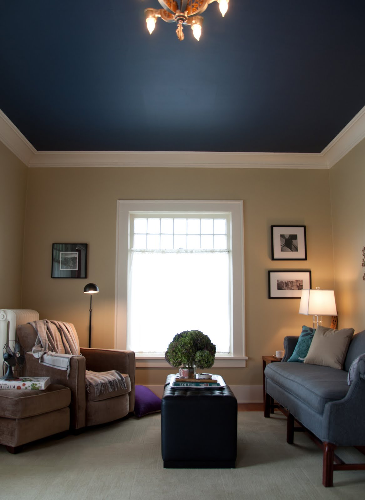 Inform inspire interiors ballard bungalow before after - Ceiling paint color ideas ...