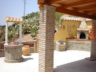 Casa Rural La Tardanza Terraza A Nivel De La Casa