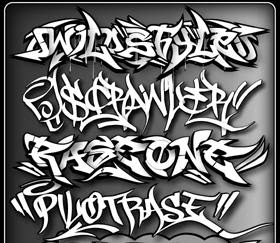 Graffiti Design: Graffiti Fonts : Write and Get Graffiti