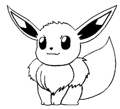 transmissionpress Pokemon quot Eeve quot Coloring Pages Kids