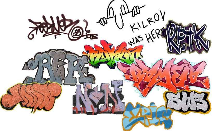 Grafiti New Most: Graffiti Design Sketches And Full Color