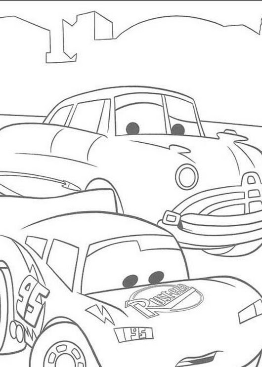 Free Printable Lightning Mcqueen Coloring Pages | Printable Coloring Pages