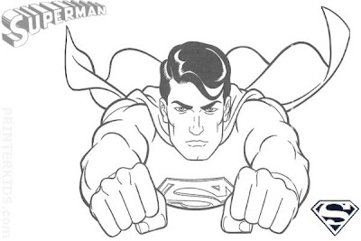 """Free printable super heroes coloring pages ~ transmissionpress: Free printable Superman """" Super Hero ..."""