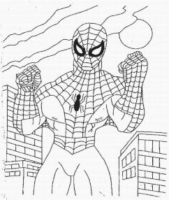 spiderman and venom printable coloring pages   Printable Spiderman coloring pages venom