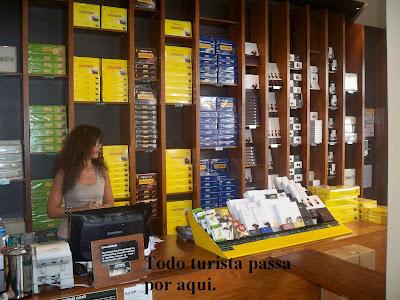 Loja da Havanna em Buenos Aires.
