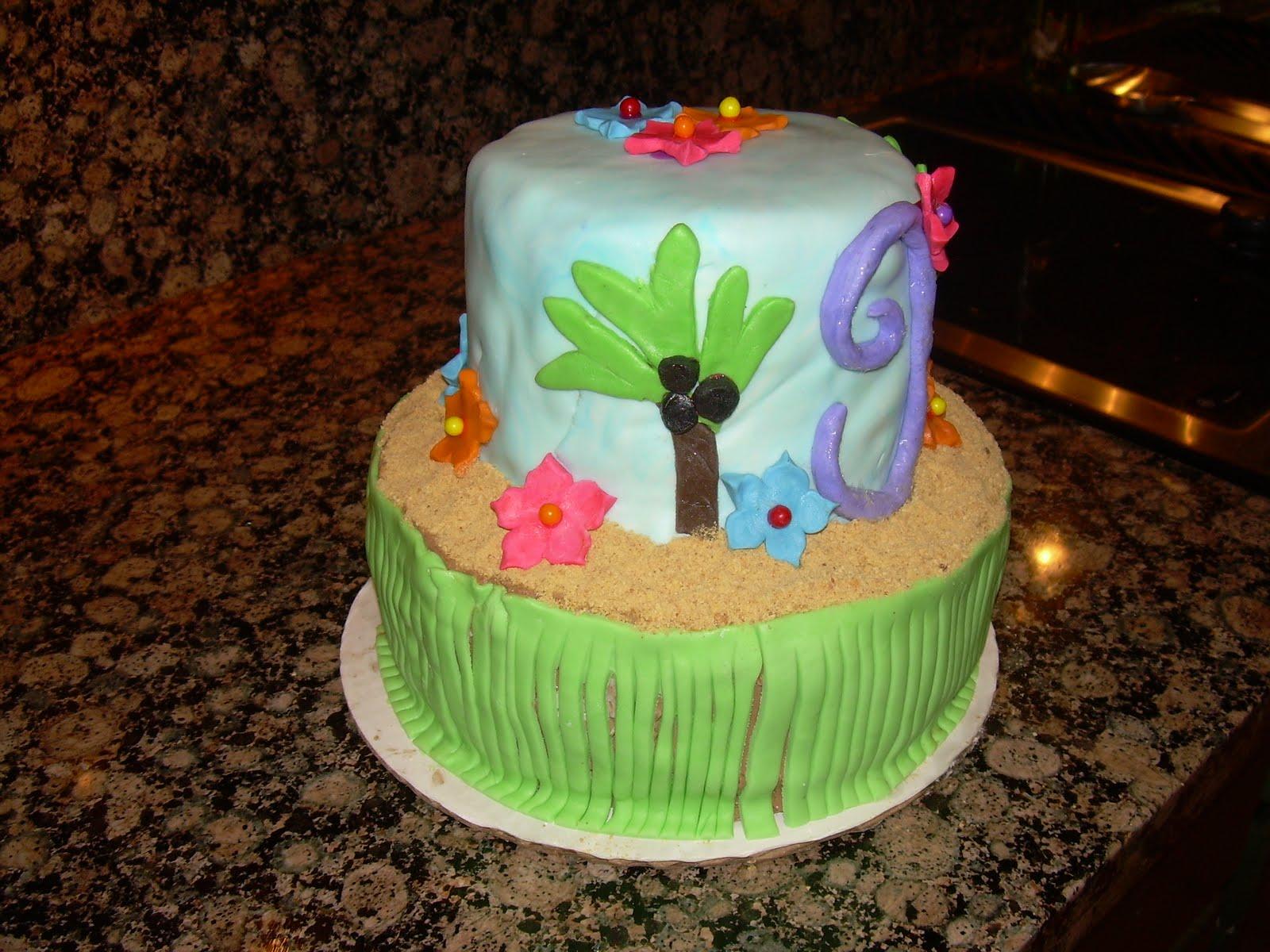Cakes By Cat Luau Birthday Cake