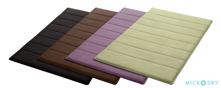 Microdry Ultimate Luxury Memory Foam Bath Mat Review