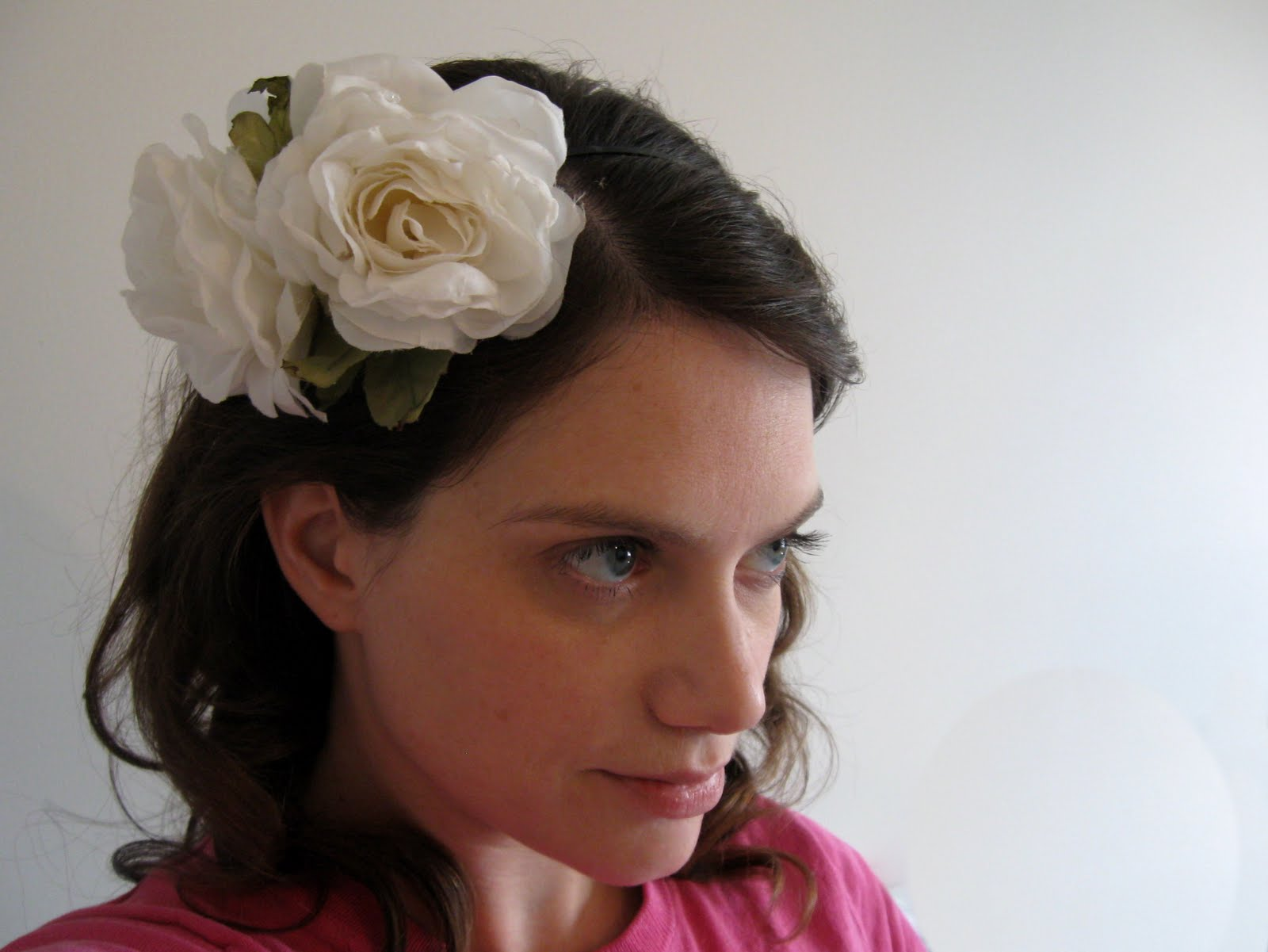 craft phesine: feminine flower headband