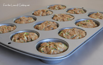Zucchini and Walnut Muffins