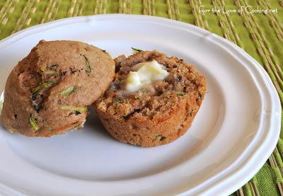 Zucchini and Walnut Muffins