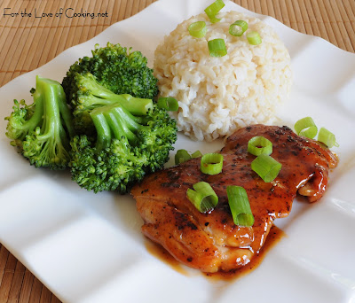 General Tsao Chicken with Brown Rice and Broccoli