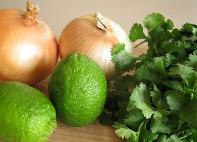 Onion, Cilantro and Lime Juice Relish