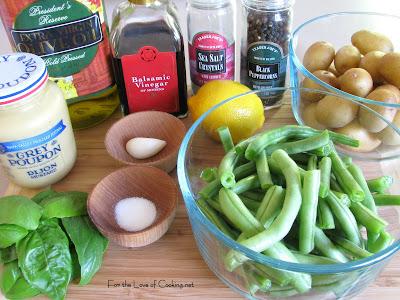 Balsamic Green Bean and Potato Salad