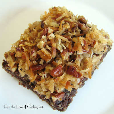 Coconut Pecan Brownies