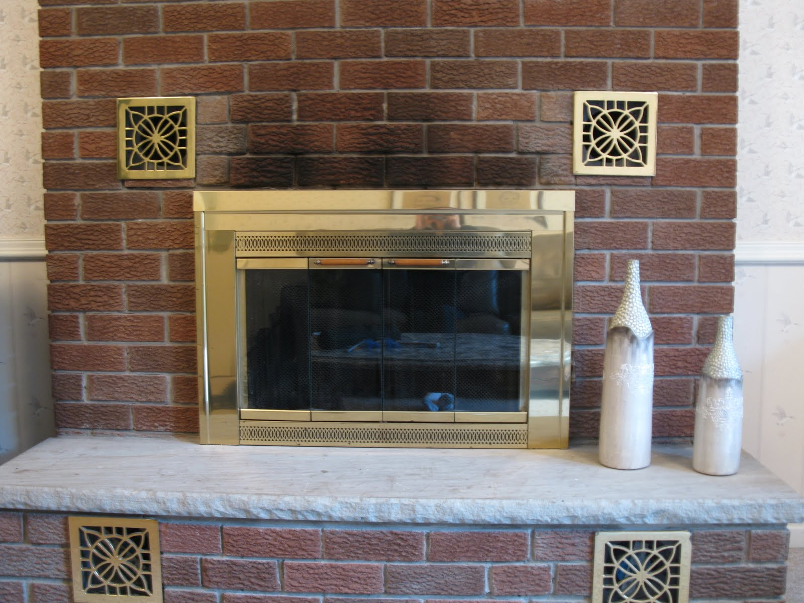 White Swan Properties Blogspot How To Clean Soot From Fireplace Brick