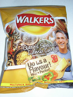 Gary's Special Lamb Curry Flavour Walkers Crisps