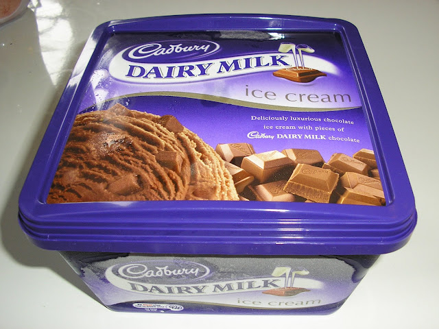 Dairy Milk Ice Cream