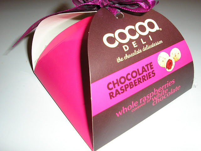 Cocoa Deli – Chocolate Raspberries