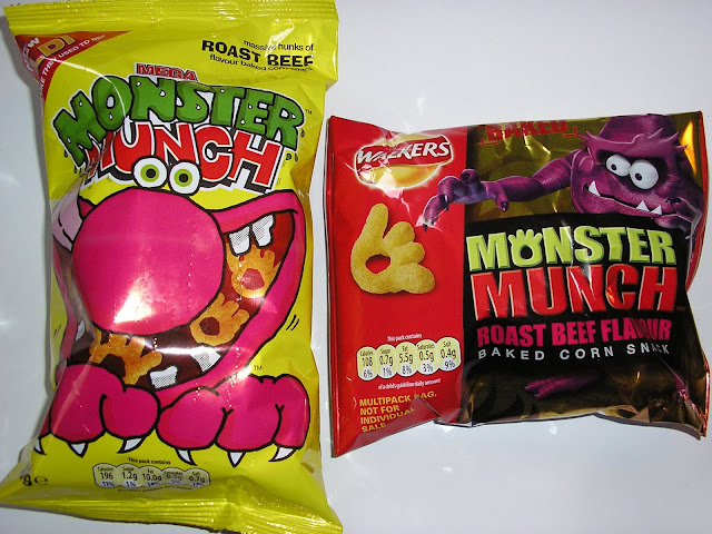 Monster Munch – Roast Beef