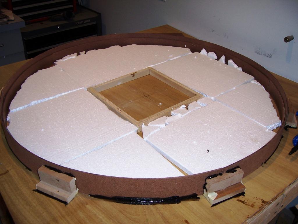 Creating Concrete Countertops Concrete Patio Table Part