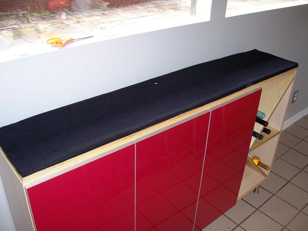 Fiber Optic Countertop Creating Concrete Countertops Concrete Fiber Optic Buffet Top