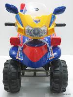 1 Motor Mainan Aki PK698N ATV SUPER POLICE PATROL Remote Controlled