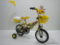 Sepeda Anak EVERGREEN DL80 JEEP Tongkat Kemudi - Musik 12 Inci 2