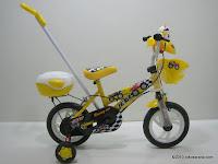 Sepeda Anak EVERGREEN DL80 JEEP Tongkat Kemudi - Musik 12 Inci