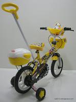 Sepeda Anak EVERGREEN DL80 JEEP Tongkat Kemudi - Musik 12 Inci 4