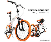 2 Sepeda Lipat DOPPELGANGER 215 BARBAROUS - Front and Rear Suspension