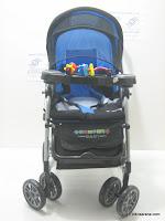 2 Kereta Bayi CREATIVE BABY BS258 Deluxe - Ayunan