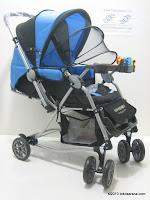 1 Kereta Bayi CREATIVE BABY BS258 Deluxe - Ayunan