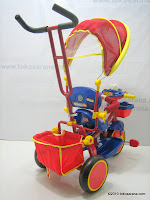 4 Sepeda Roda Tiga PORORO Leonardo