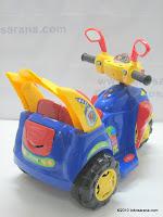 4 Motor Mainan Aki JUNIOR SPACE STAR