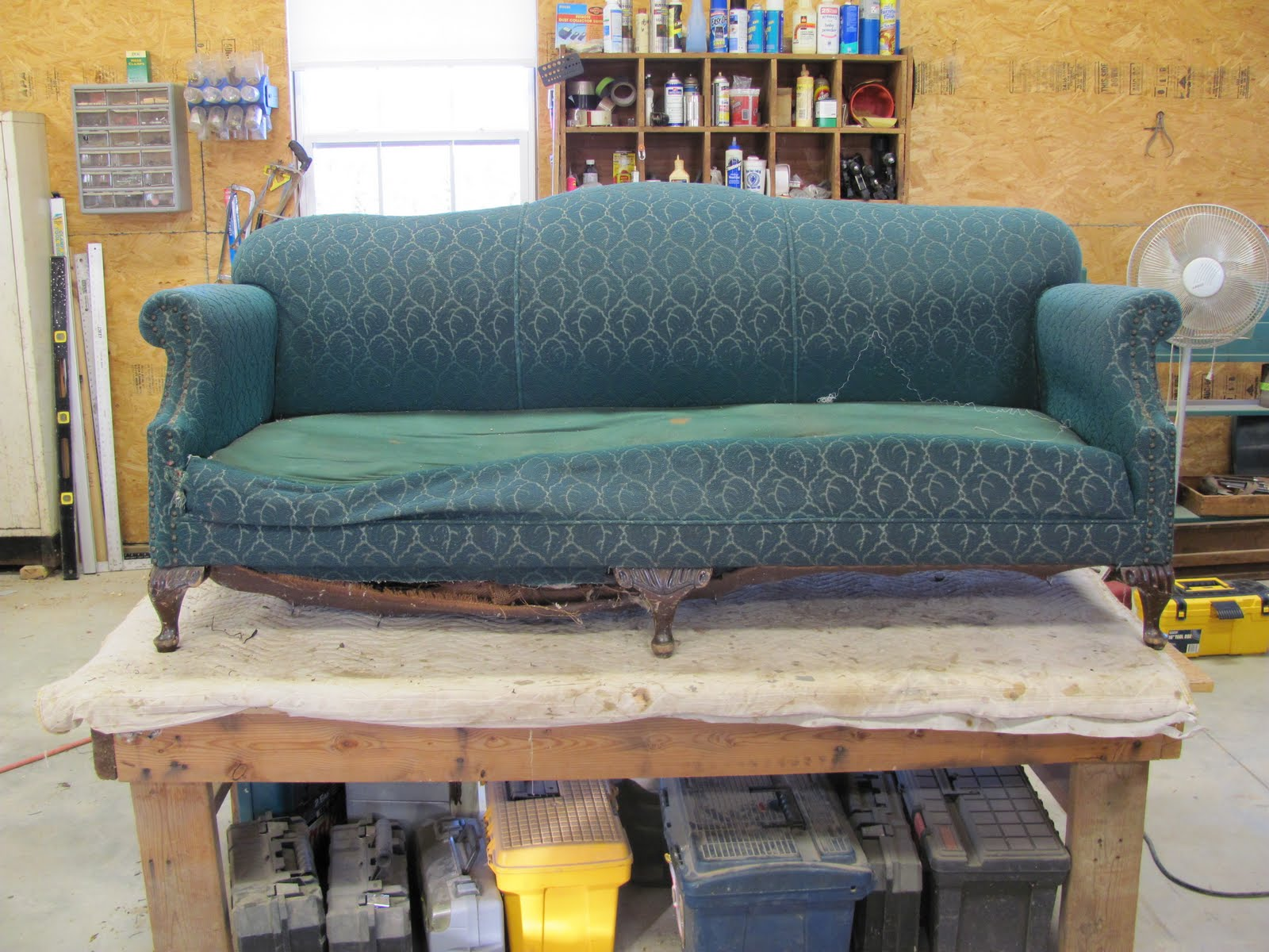 Springs For Sofa Repairing Sectional Slipcovers Diy Thomas Nelson Furniture Restoration Re Working