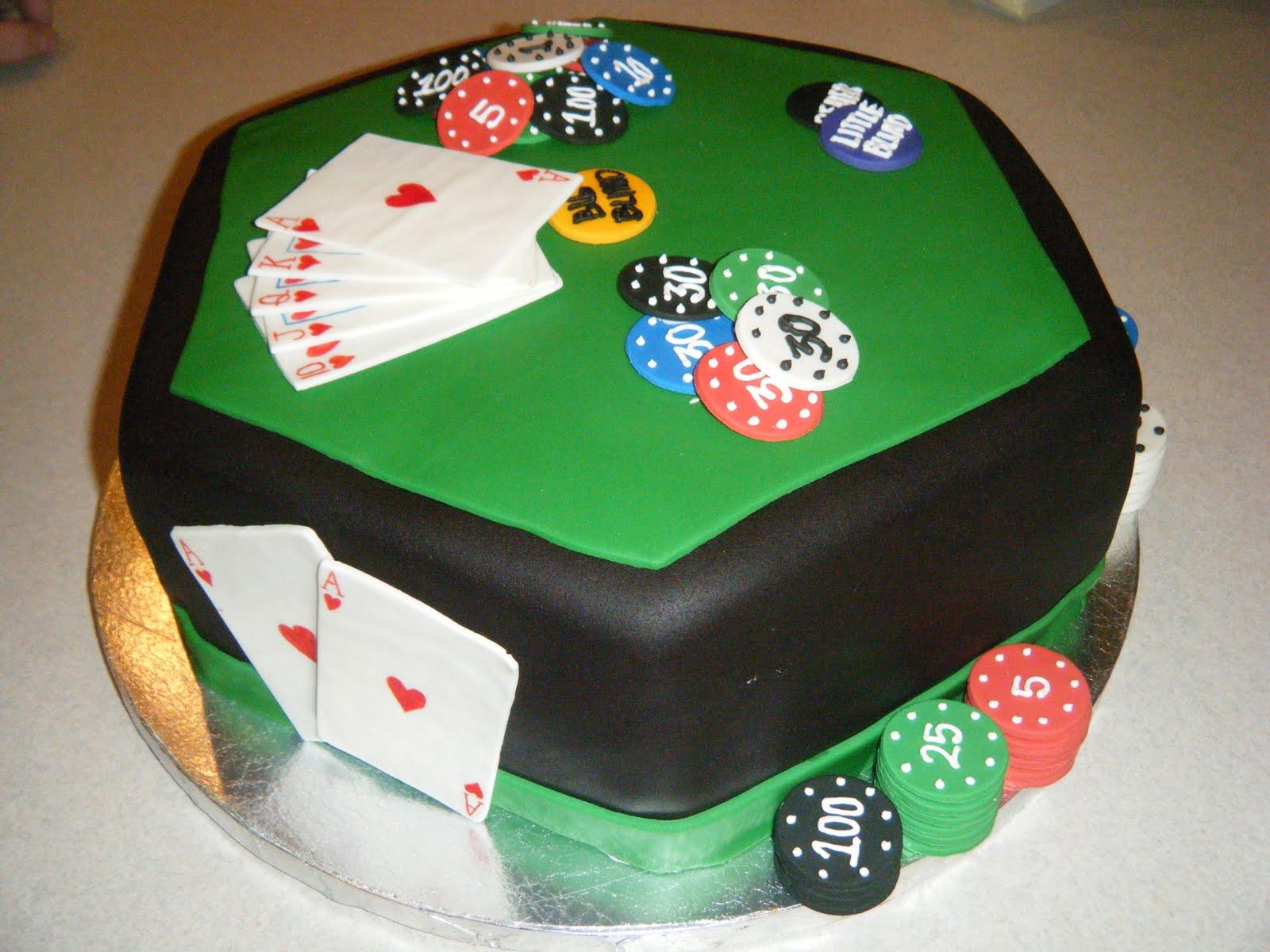 Cakessica Poker Table Cake