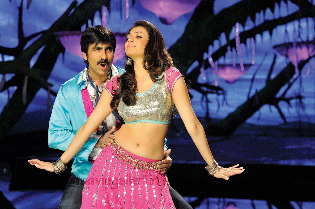 Veera Movie Kajal Agarwal Stills, Ravi Teja Veera Telugu -3689