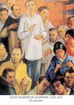sveti Lovrenc de Manila Ruiz in tovariši - mučenci