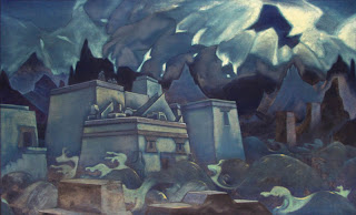 The Death of Atlantis by N. Roerich