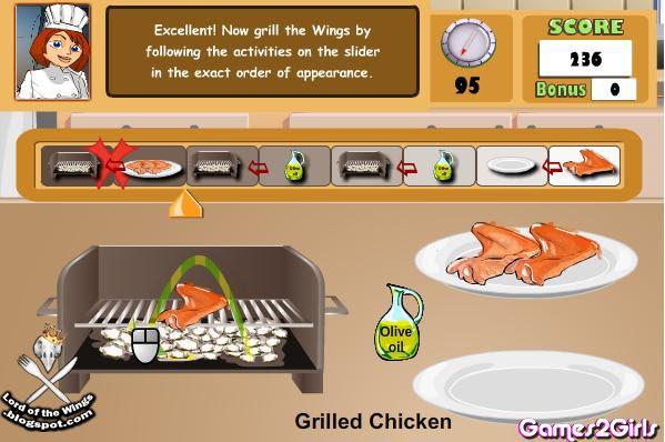 Games2girls Cooking