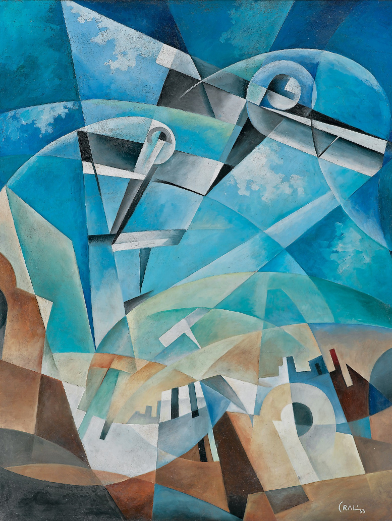 Cubism and Futurism Abstract Art