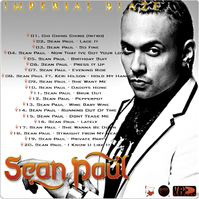 SEAN PAUL - IMPERIAL BLAZE (2009) | DANCEHALL | ANTHEMZ
