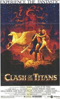 Movie poster of the original movie Clash of the Titans